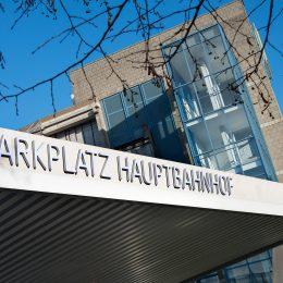Parkplatz am Hauptbahnhof
